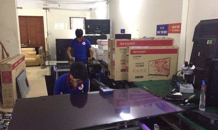 Sửa tivi Sharp tại nhà Hà Nội uy tín giá rẻ, thợ chuyên nghiệp