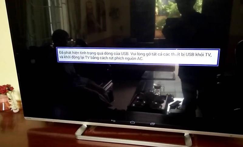 sửa chữa tivi Toshiba