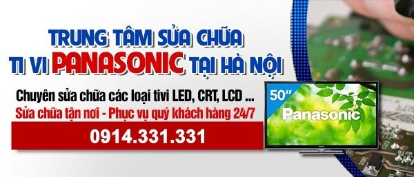 Dịch vụ sửa tivi Panasonic tại nhà Hà Nội