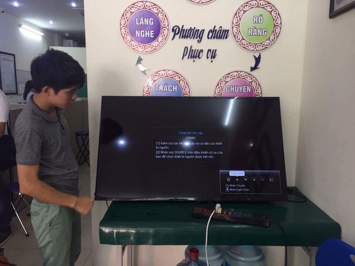 Sửa chữa tivi tại Ba Đình