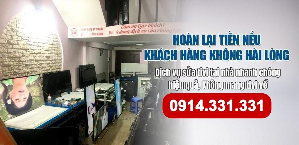 Dịch vụ sửa tivi tại Linh Đàm