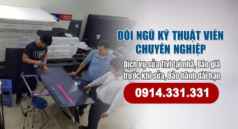 Sửa chữa tivi quận Hà Đông