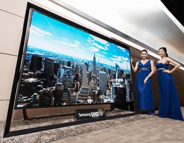 Tivi SamSung UHDTV đắt nhất thế giới với giá 3 tỷ đồng