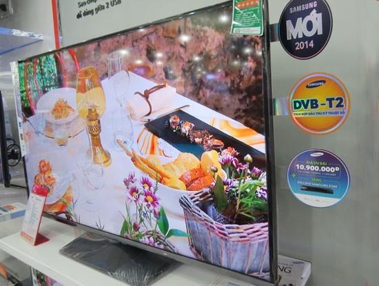 Mua tivi online: Khách hàng khó phân biệt được tivi tích hợp DVB-T2