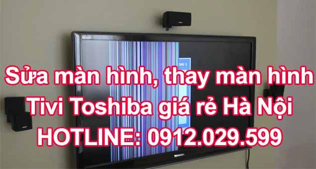 Sửa tivi LCD, LED bị hỏng panel màn hình