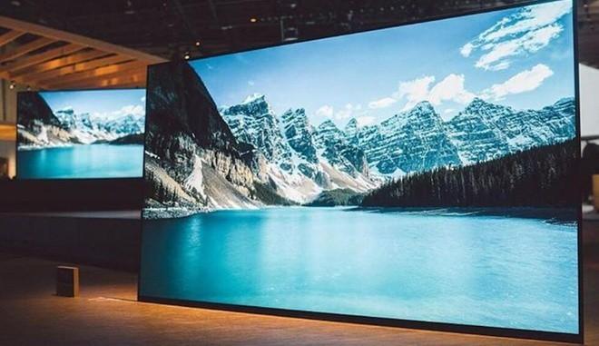 Hãng Sony ra mắt tivi OLED 4K đầu tiên, không cần loa ngoài