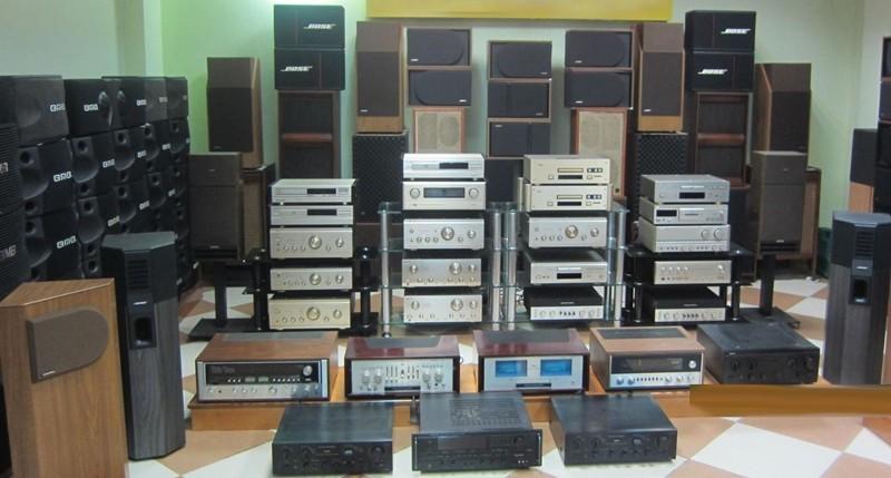 thu mua dàn âm thanh cũ
