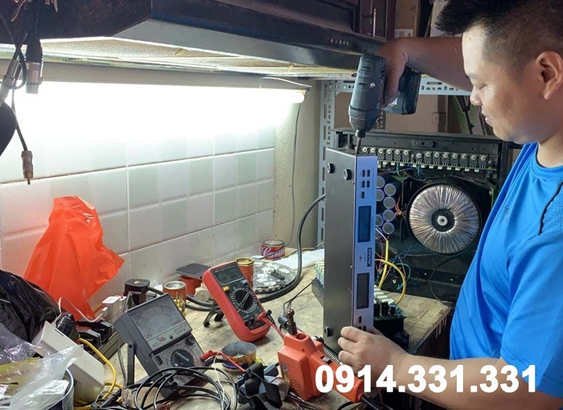 Sửa dàn âm thanh tại Hà Nội giá rẻ