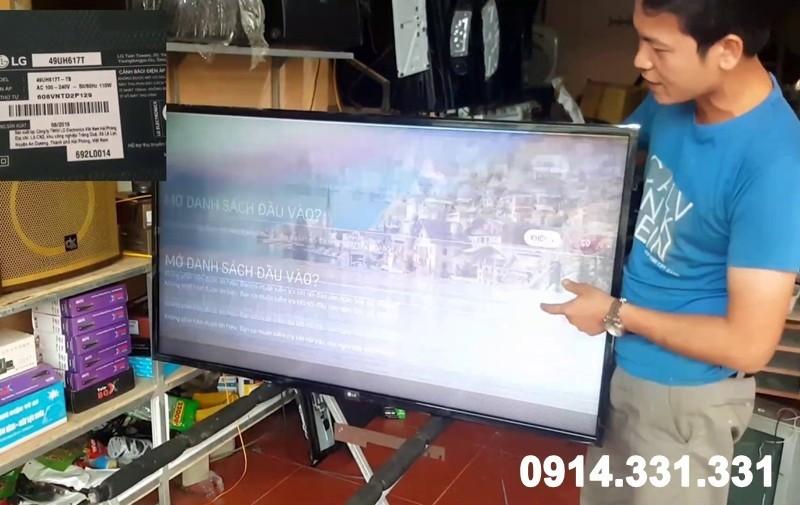 Sửa tivi quận Hoàn Kiếm tại nhà giá rẻ