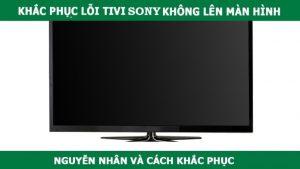 sửa tivi không lên hình