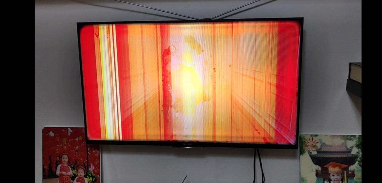 Cách khắc phục màn hình tivi bị kẻ sọc