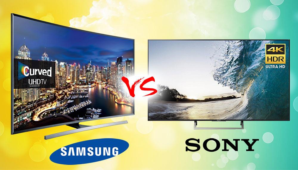 So sánh độ bền hai hãng tivi samsung và sony