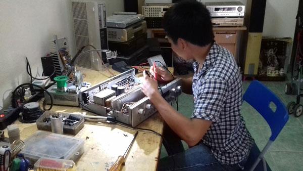 Sửa amply tại nhà Hà Nội uy tín, chất lượng, giá cả cạnh tranh