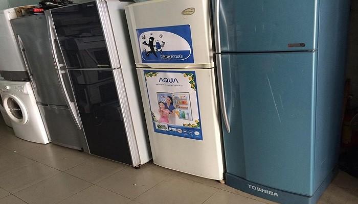 Thu mua tủ lạnh cũ hỏng giá cao tại Hà Nội