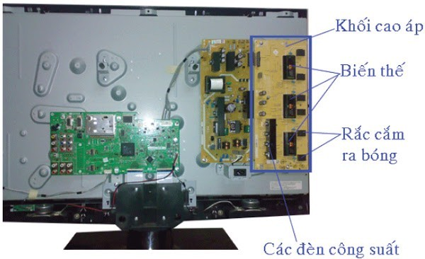 cao áp LCD