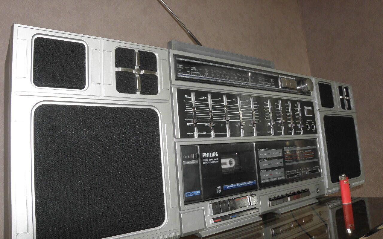 thu mua đài radio cassette