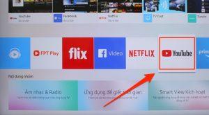 Hướng dẫn khắc phục tivi samsung không xem được youtube