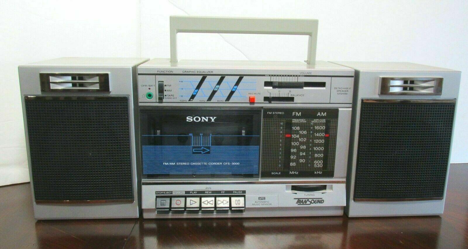 Thu mua đài radio cassette hỏng